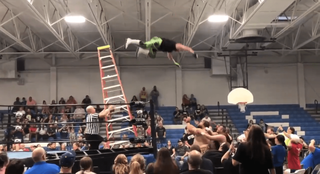 Indie Wrestler Suffers Injuries In Bad Ladder Bump, Doc Gallows And Tommy Dreamer Comment
