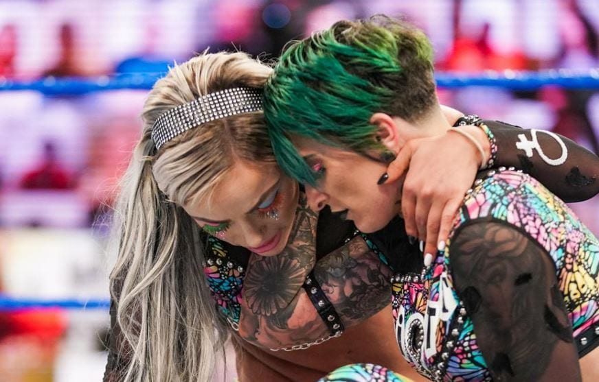 Liv Morgan Reacts To Ruby Riott's WWE Release