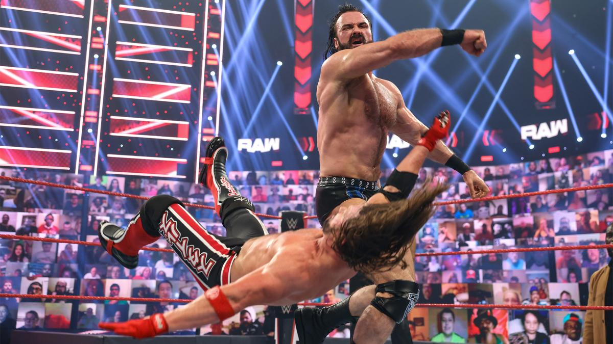 WWE Monday Night RAW Results – Battle Royal, Strap Match, Money In The Bank Build, More