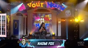 """WWE NXT """"Takeover: In Your House"""" Dark Match, Naomi Fox Opens The Show, Todd Pettengill"""