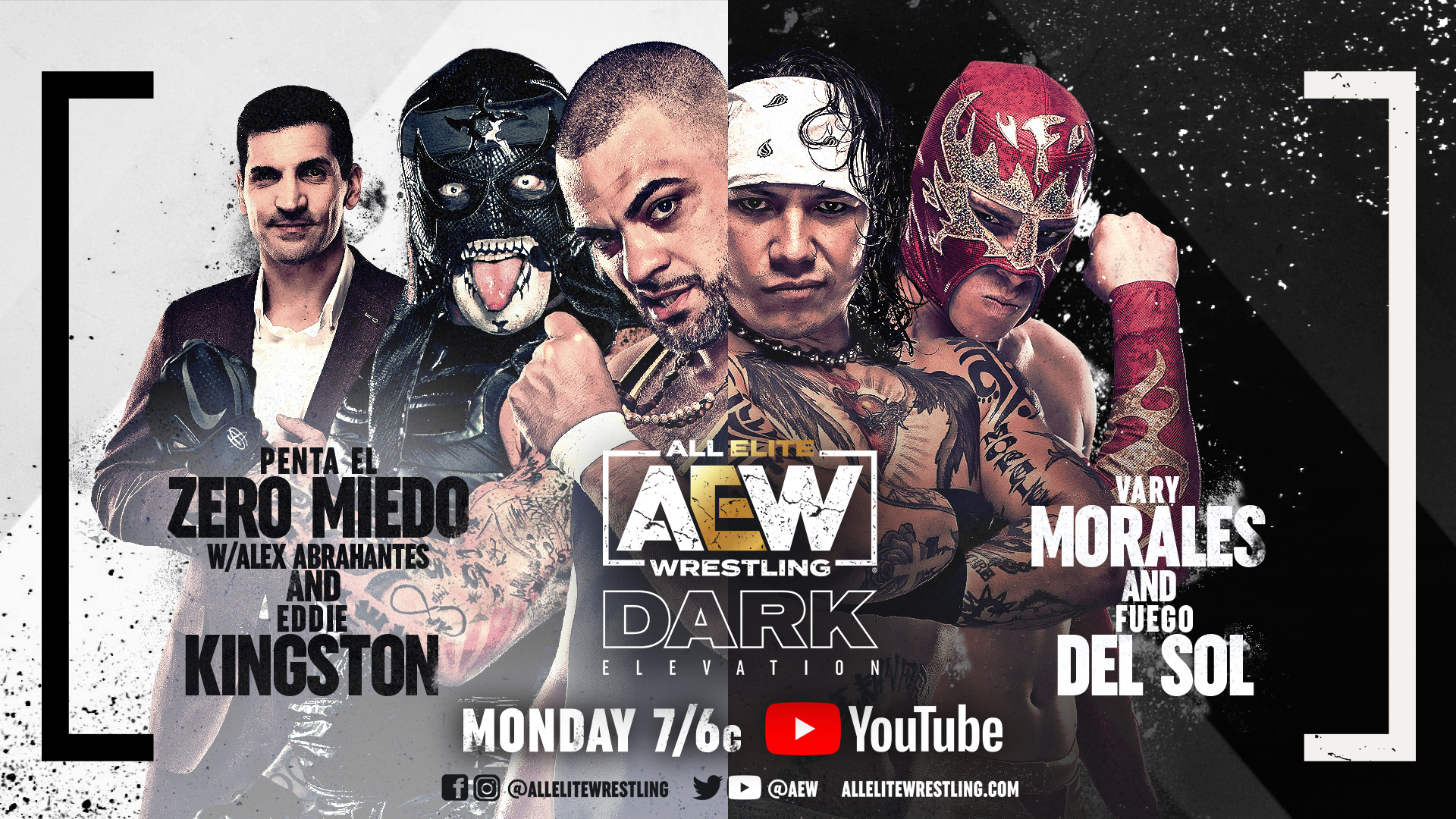 Three More Matches Added To Monday's AEW Dark: Elevation