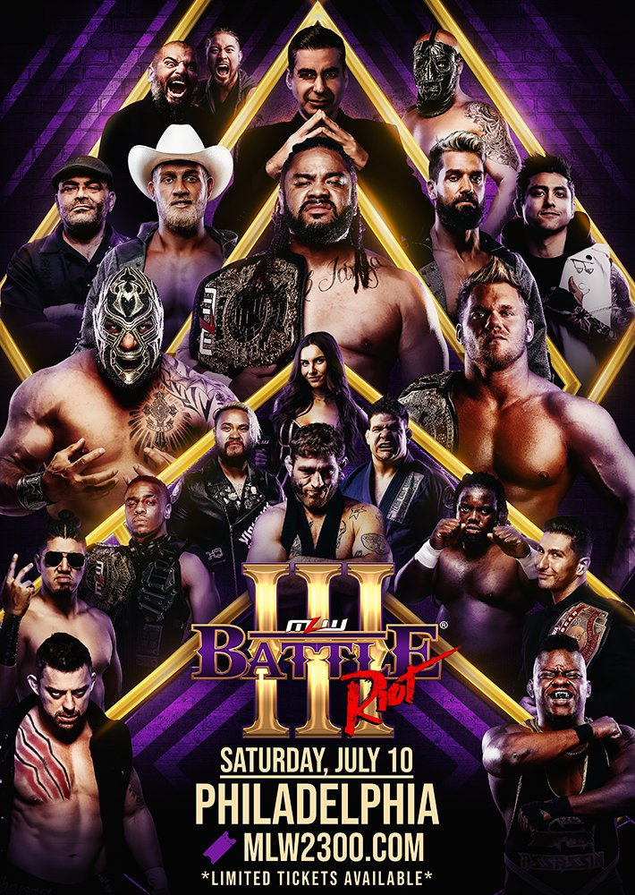 Spoilers For MLW Battle Riot III