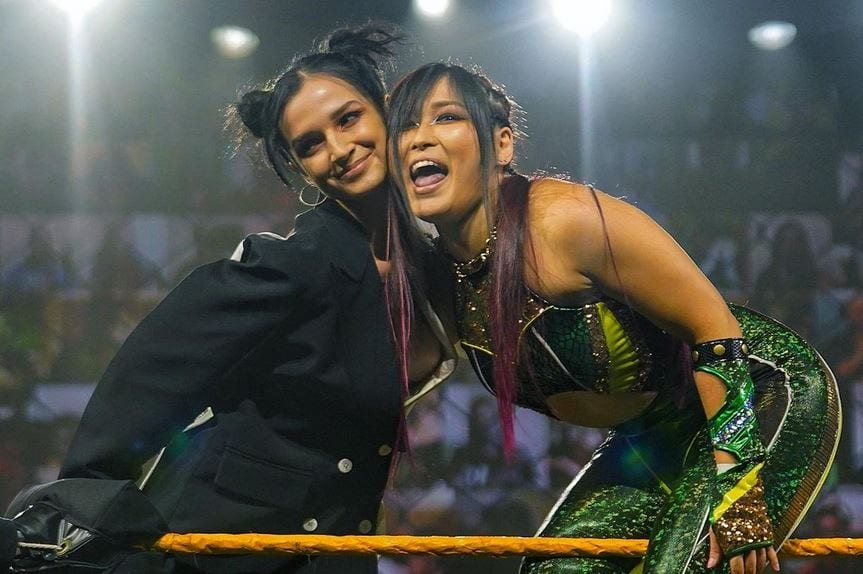 Io Shirai Returns To WWE NXT, Poppy Releases NXT Soundtrack During Backstage Segment