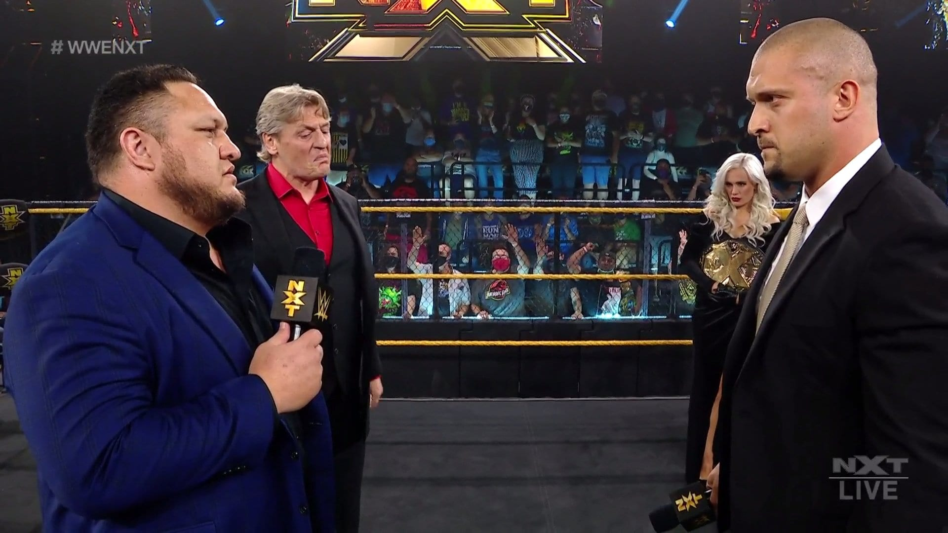 Samoa Joe Returns To NXT As Enforcer To The General Manager