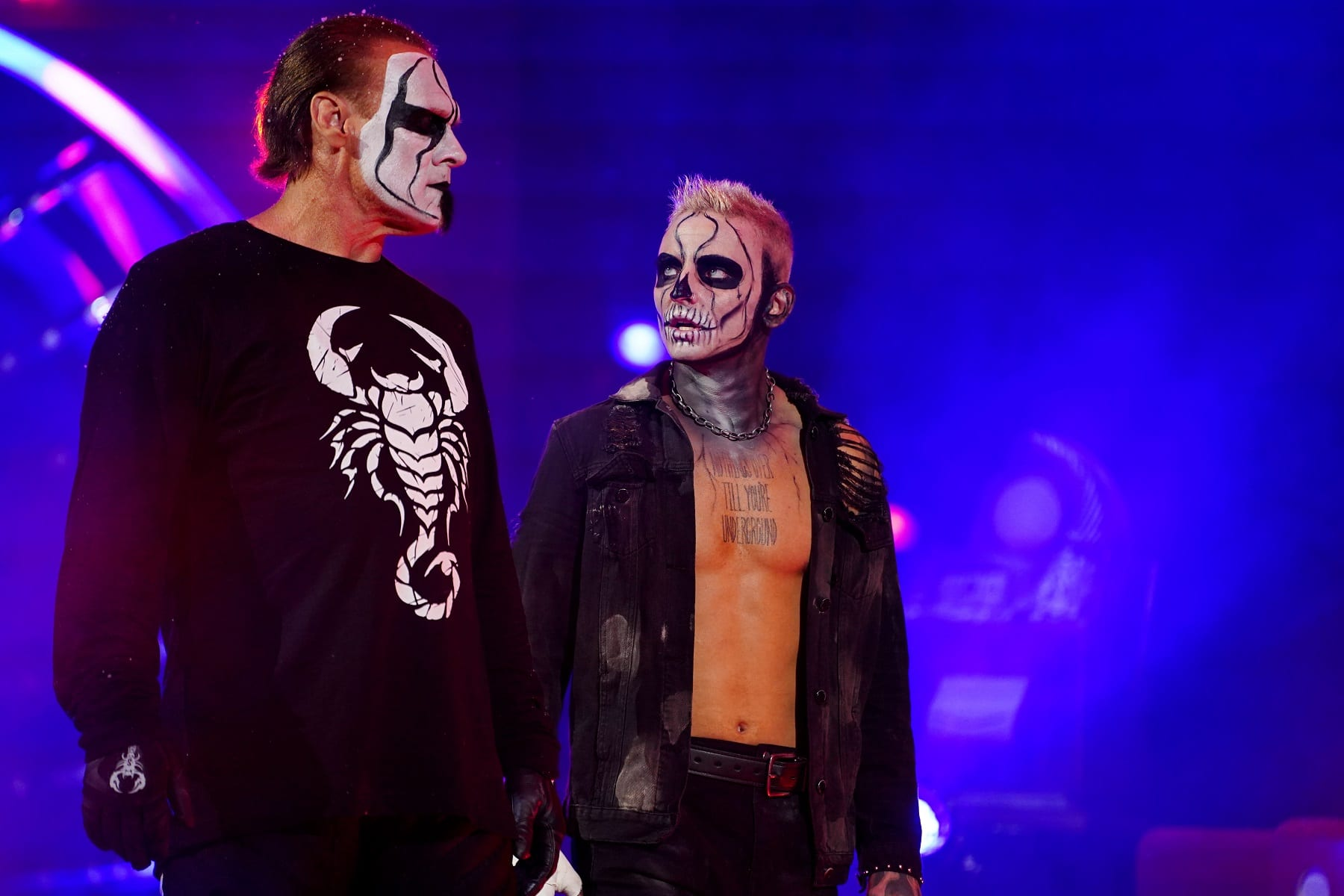 Sting Wrestles On TNT For The First Time In 20 Years