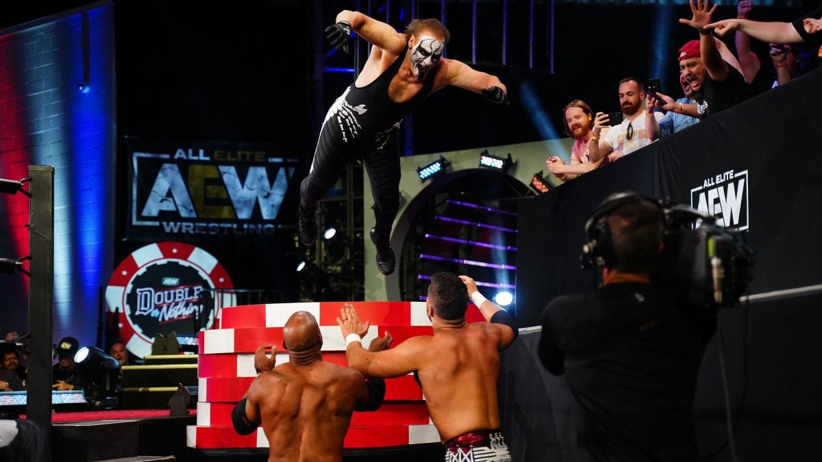 Sting Reportedly Received Big Backstage Pop At AEW Double Or Nothing
