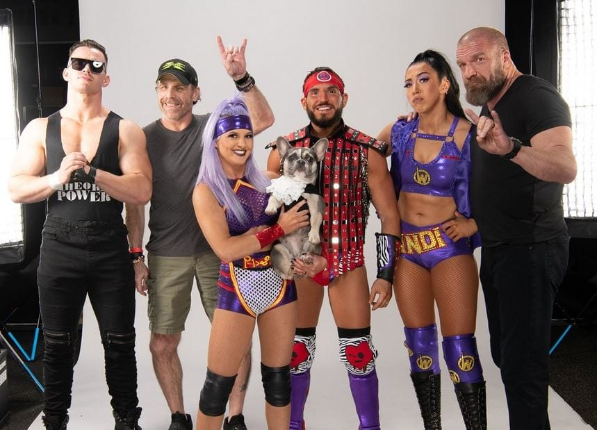 Photos: Shawn Michaels & Triple H React To The Way Dressing As The Kliq At NXT Takeover