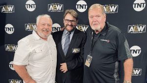 Wrestling Legend Appears Before AEW Dynamite, To Join Commentary Team Next Week