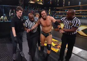 Kyle O'Reilly Vs. Adam Cole Continues, Post-WWE NXT Footage Of Cole Helped To The BACK