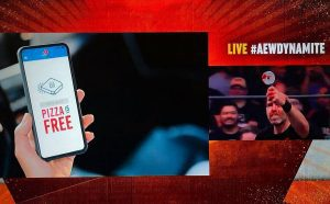 Pabst Blue Ribbon Reacts To Domino's Pizza Threatening To Pull Ads From AEW TV