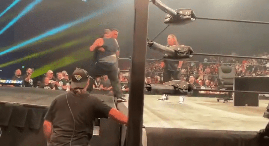 Jim Cornette Rips Fan Who Rushed The Ring At AEW Dynamite In His Name