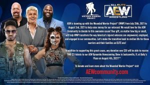 AEW Partnering With Wounded Warrior Project To Raise Funds