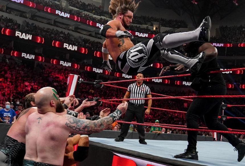 WWE Announces Title Match For Next Week's RAW