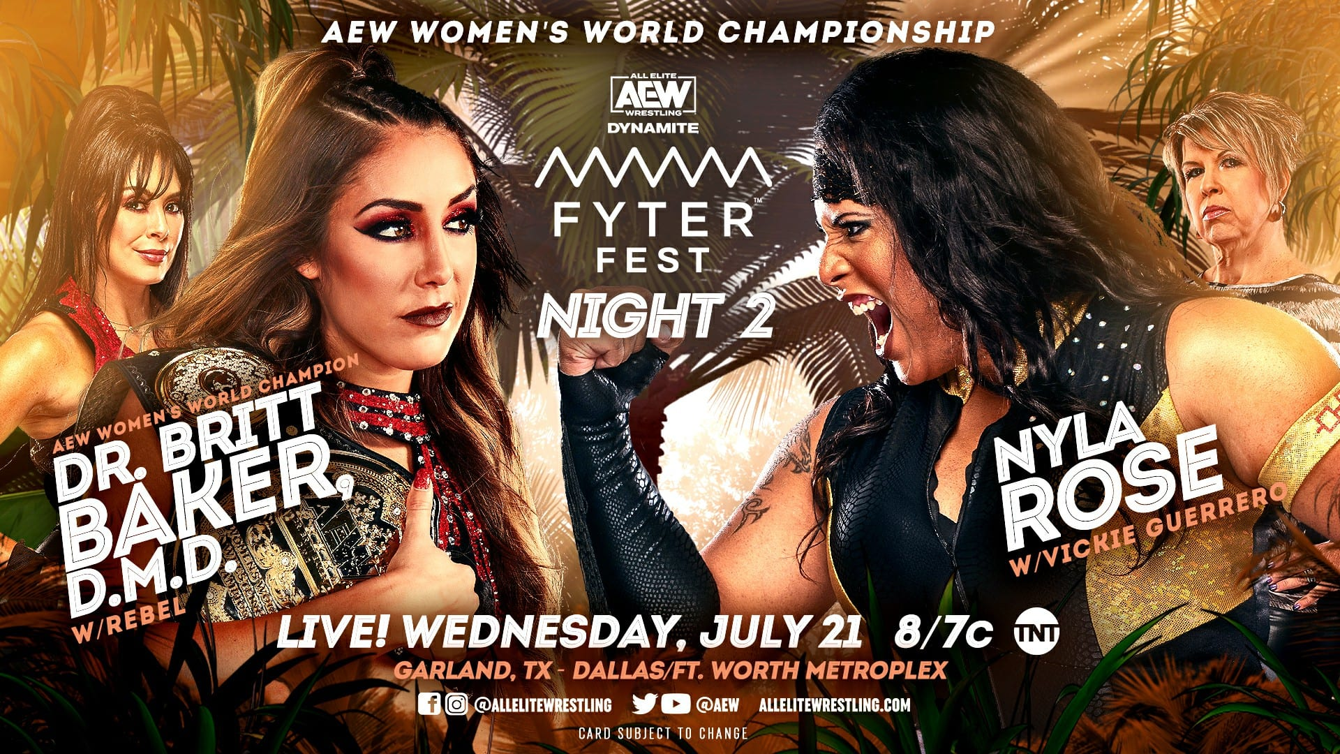 AEW Dynamite Fyter Fest Night Two Results: Title Change, Big Debuts