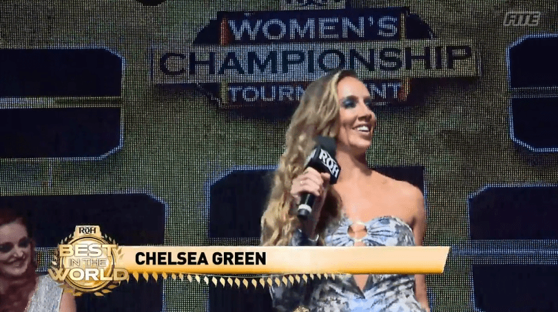 """WWE Trying To Keep """"Chelsea Green"""" Trademark"""