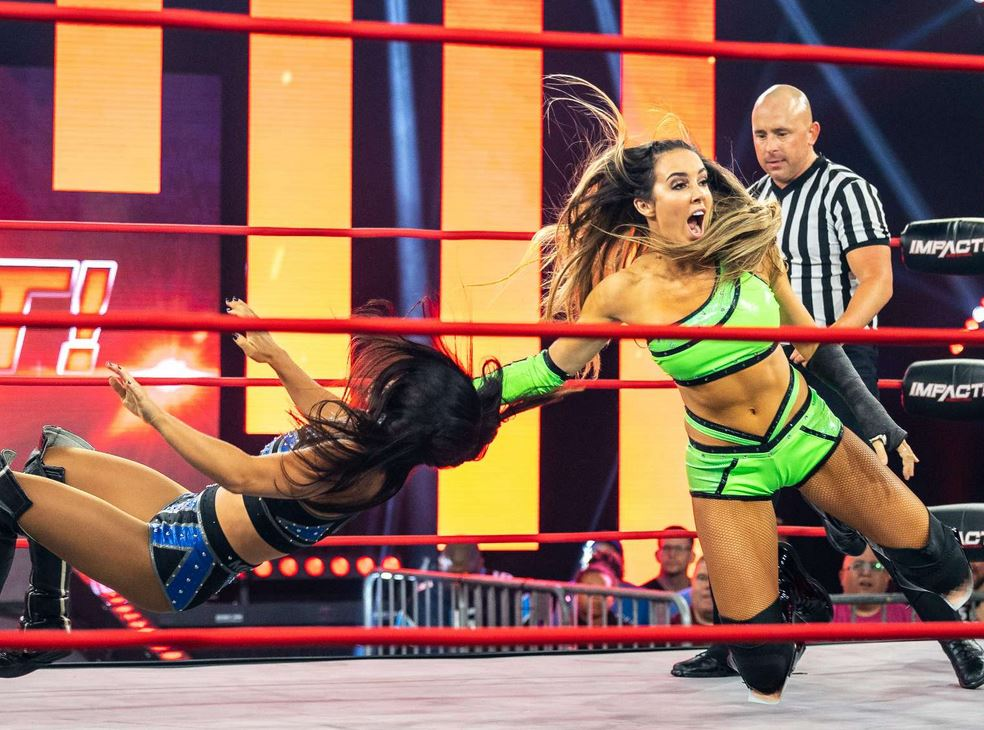 Chelsea Green's Doctor Puts Her Back In A Cast After Seeing Slammiversary Video