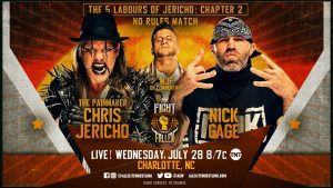 AEW Dynamite Live Coverage: Chris Jericho Faces Nick Gage