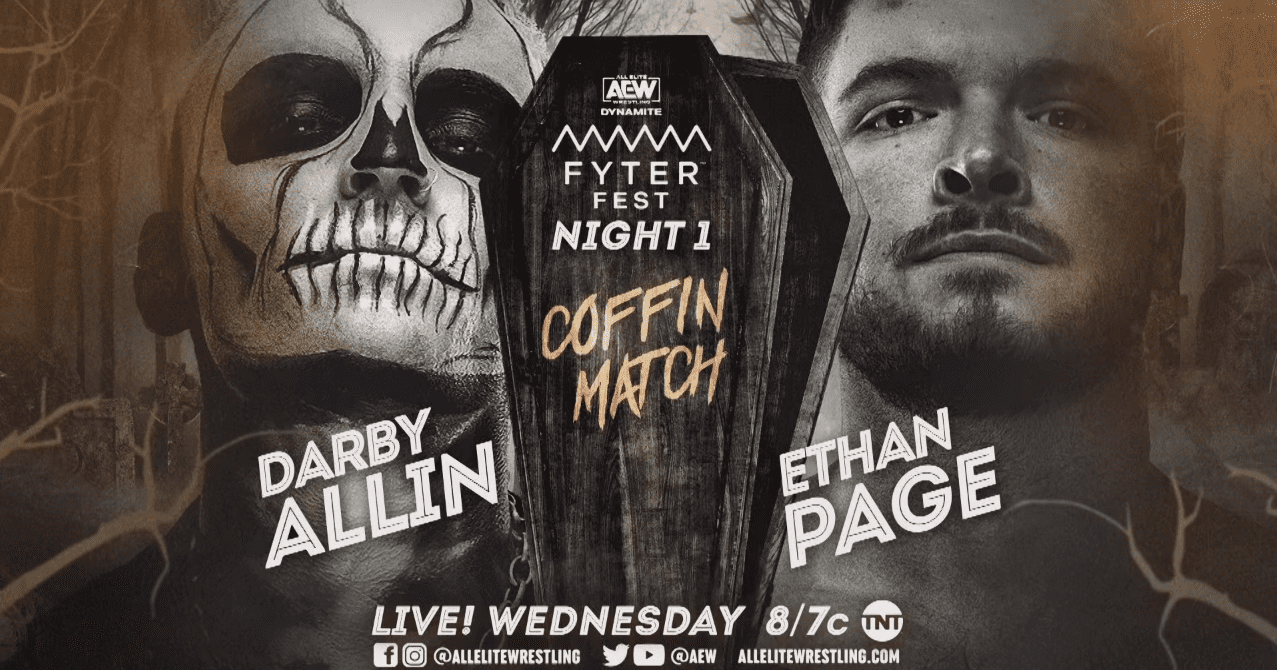 AEW Dynamite Fyter Fest Night One Results: Coffin Match