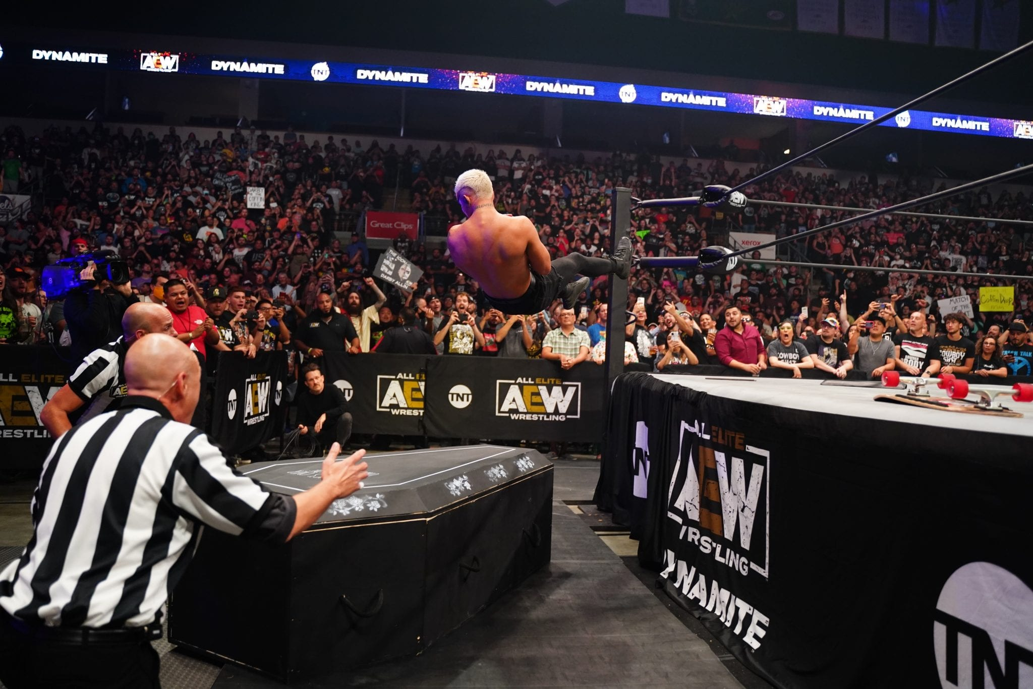 AEW Dynamite Viewership Back Over One Million For Fyter Fest Night 1