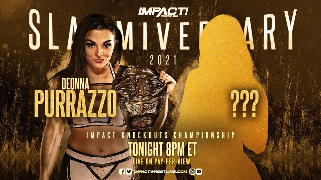 Mystery Opponent Revealed At Slammiversary, Recently Released WWE Star Shows Up