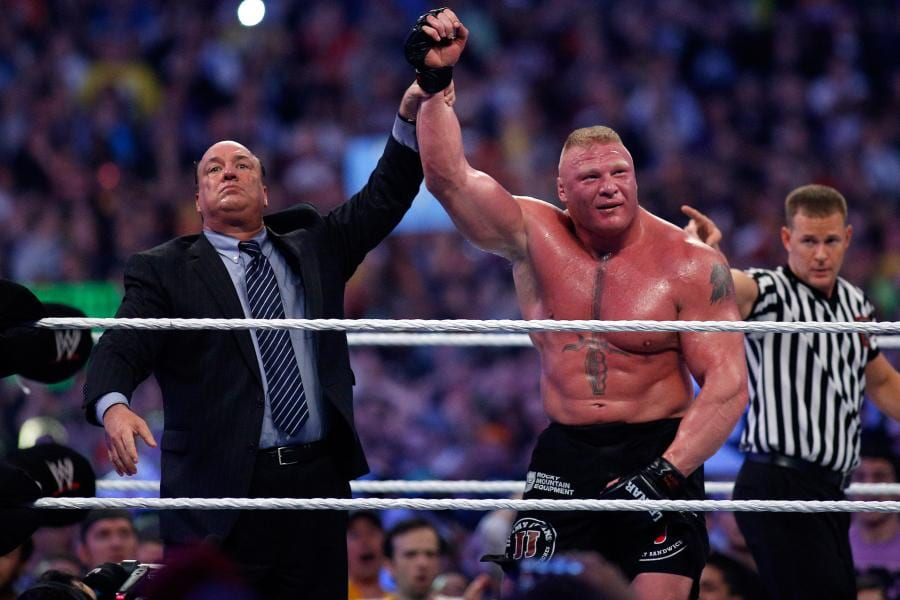 Paul Heyman On If He Believes Brock Lesnar Will Fight In The UFC Again