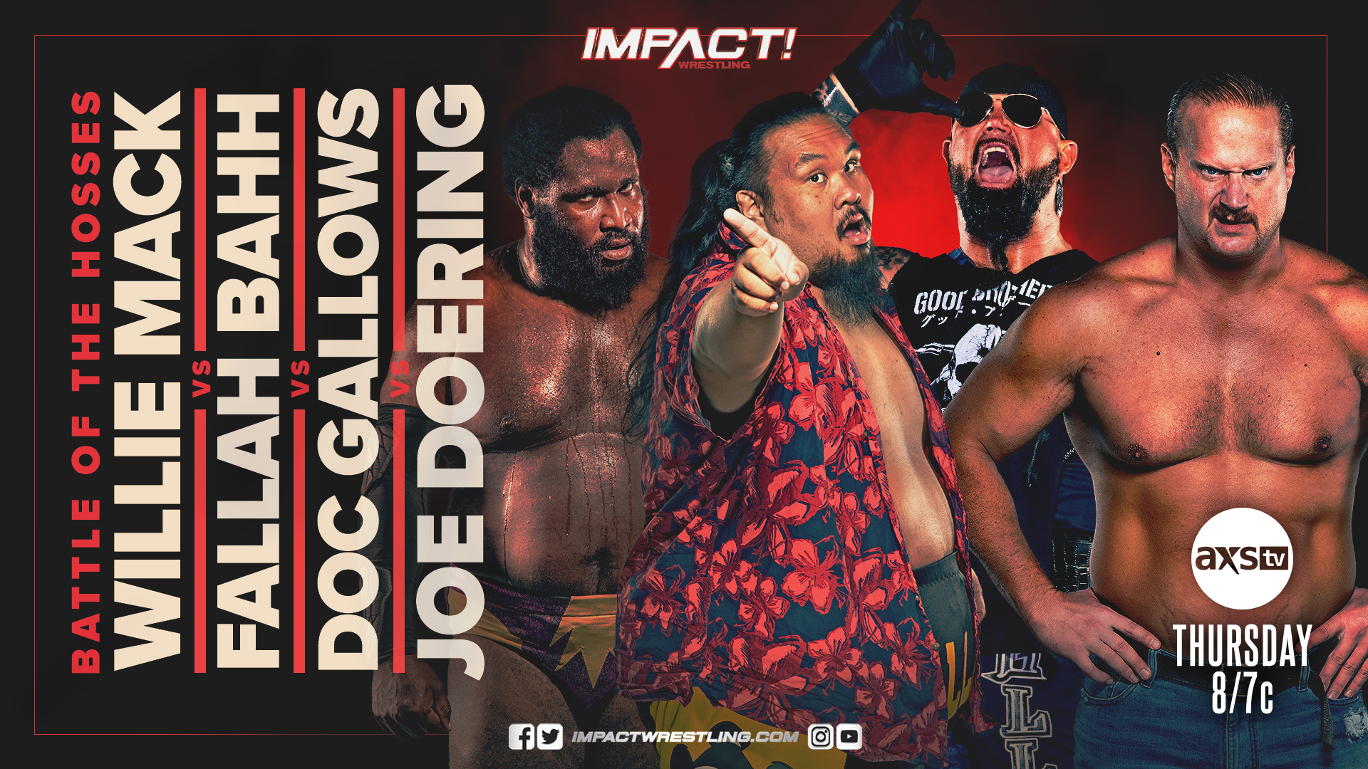 """Impact Wrestling Results (7/15): """"Slammiversary"""" Go-Home Show, Four-Way Main Event"""