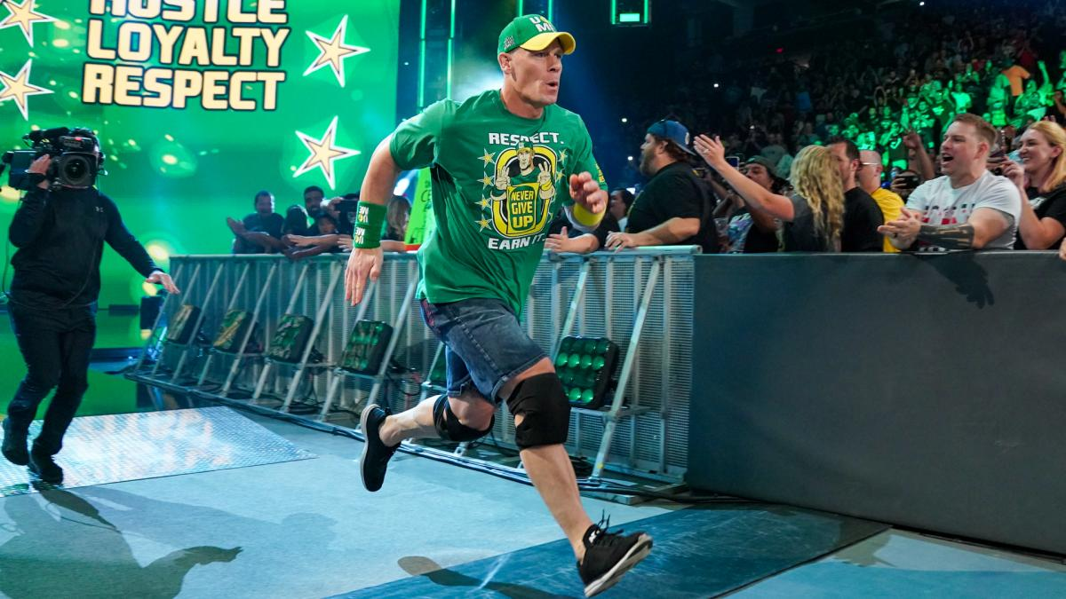 """John Cena On Which WWE Star Might Be """"The Best Ever"""""""