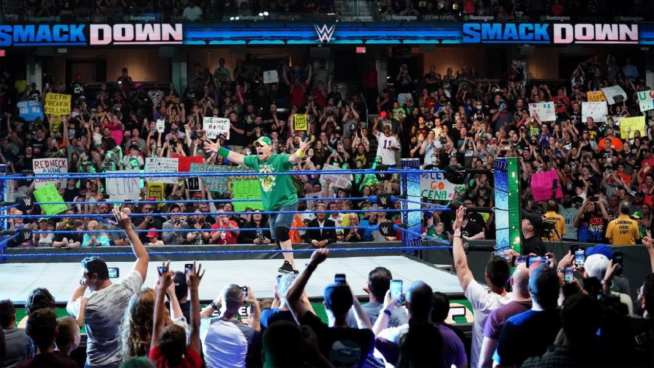 John Cena Wrestles In A Match After WWE Smackdown Goes Off The Air 15