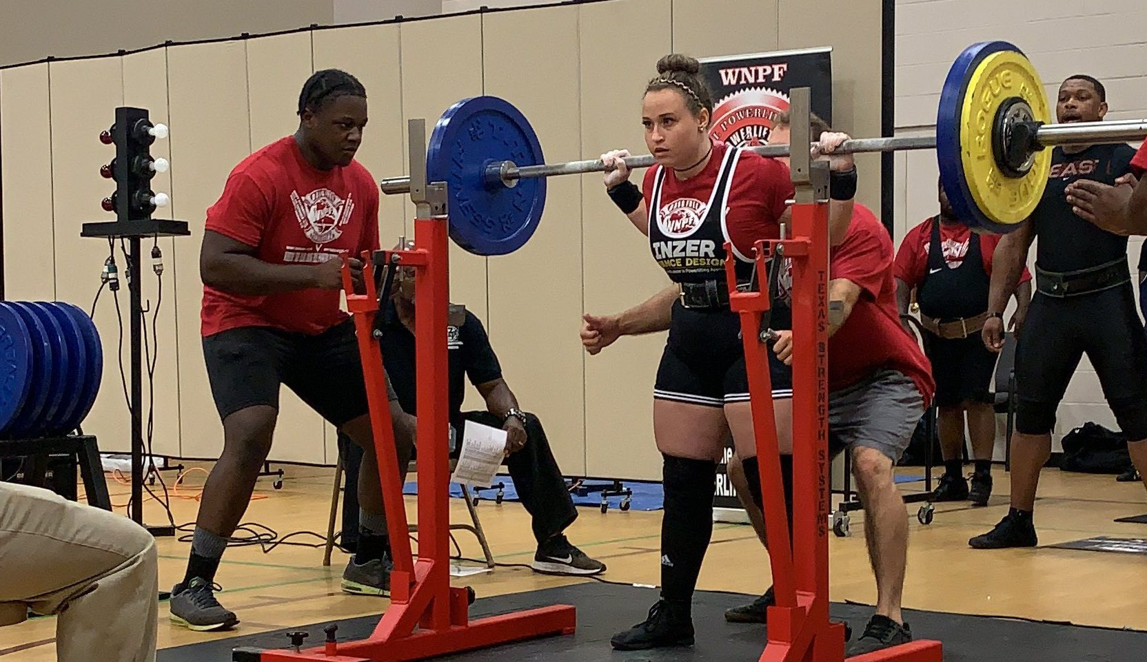 Impact Knockouts Star Breaks Records At Powerlifting Competition