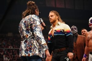 Backstage News On Hangman Page's Status For AEW All Out
