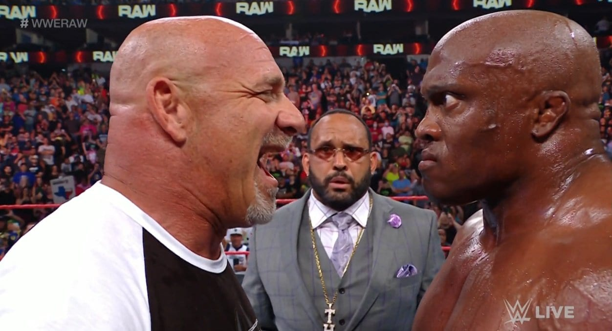 Keith Lee Returns To RAW For WWE Title Shot, Goldberg Confronts Bobby Lashley