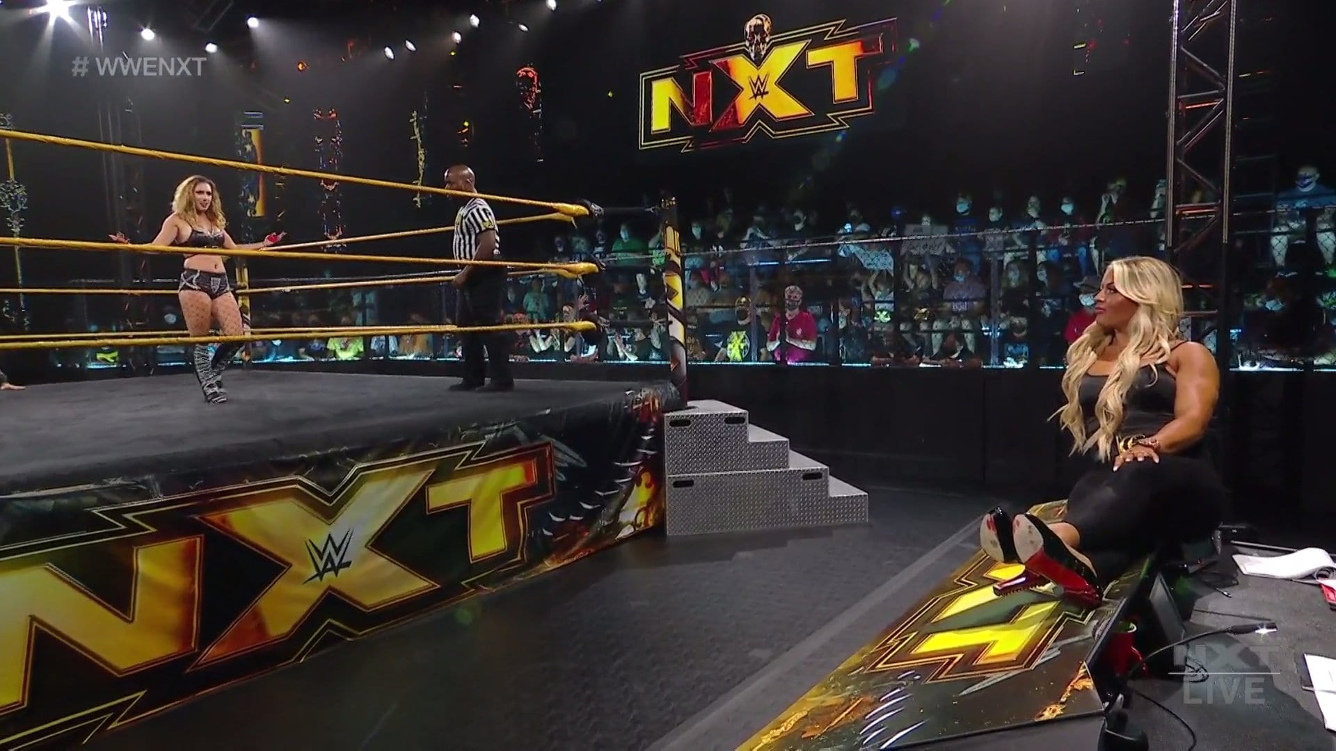 New WWE NXT Star Debuts, Mandy Rose Storyline Continues