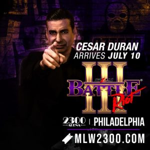 Cesar Duran Makes First Live Appearance In MLW, Reveals A Major Announcement