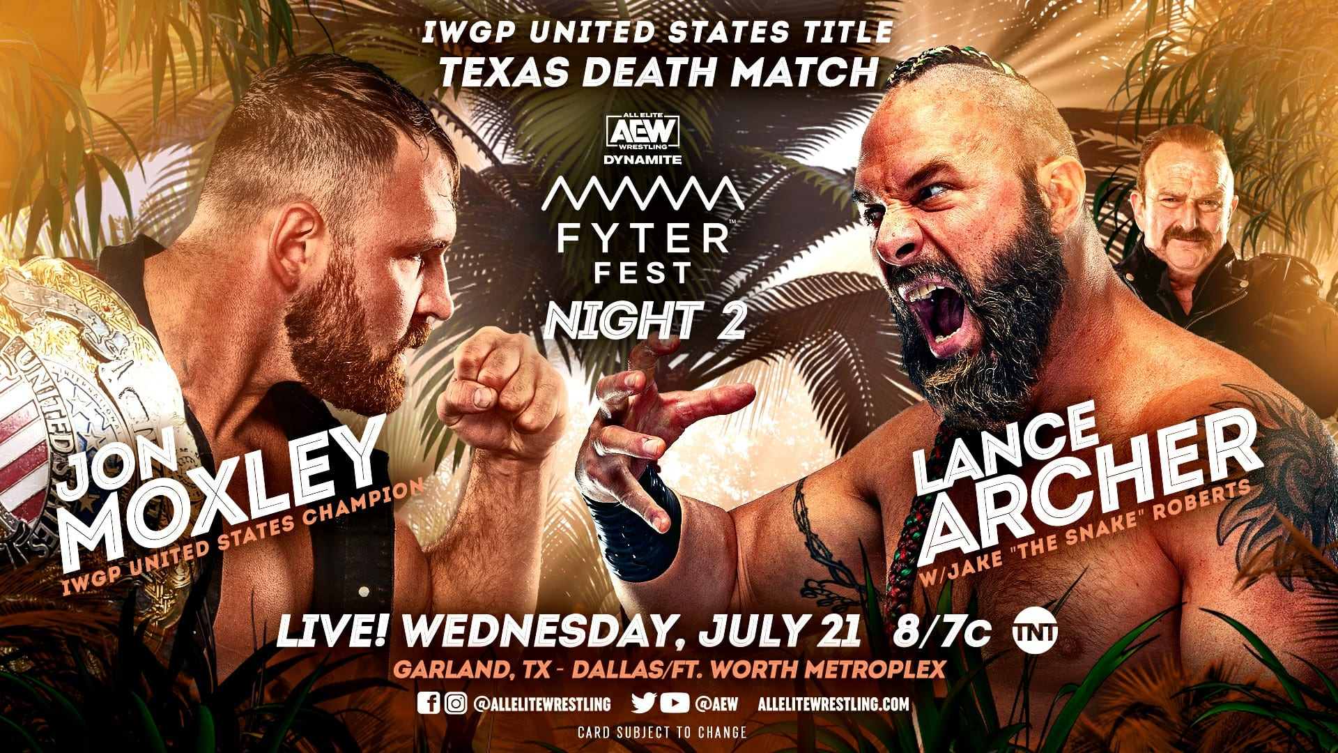 AEW Dynamite Fyter Fest Night Two Preview