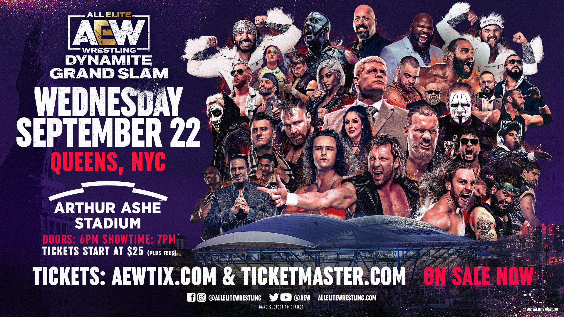 AEW Dynamite: Grand Slam Reportedly Almost Sold Out