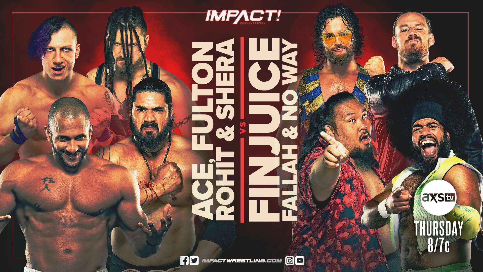 Eight-Man Tag Team Match Announced For Impact Wrestling