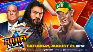 Photos: WWE And FOX Reveal New SummerSlam Posters With John Cena And Roman Reigns