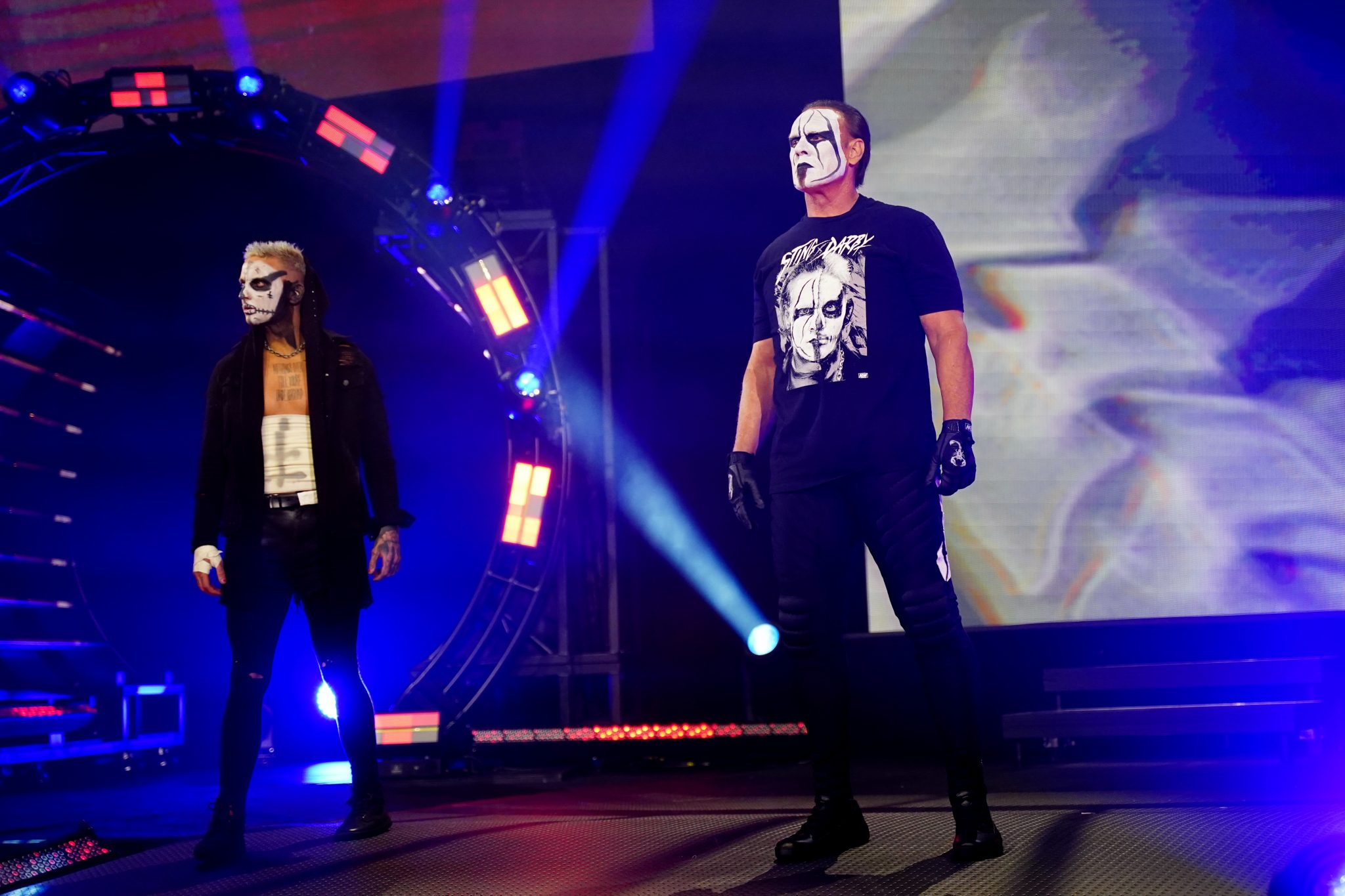 Videos: Sting Does A Scott Hall Impersonation After AEW Tapings, Jon Moxley Speaks