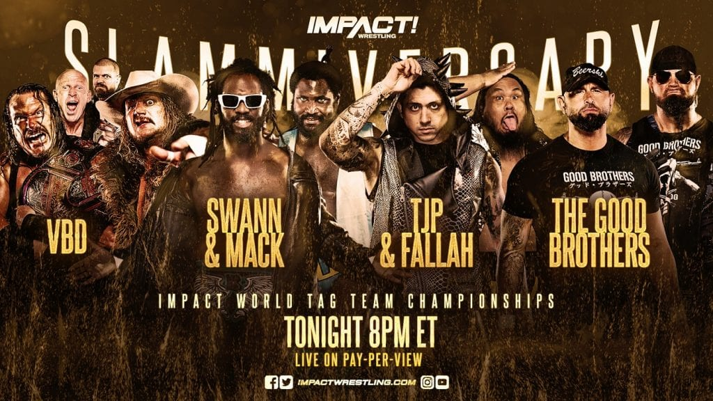 New Tag Champions Crowned At Impact Slammiversary, Former WWE Star Appears