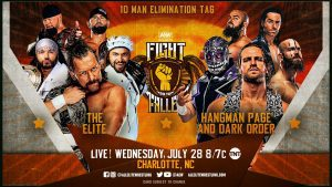 AEW Dynamite Fight For The Fallen Preview: Big 10-Man Tag Match