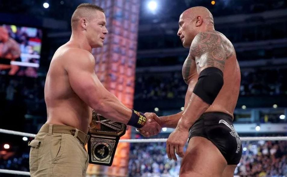 The Rock And John Cena Hype WWE Return To The Road