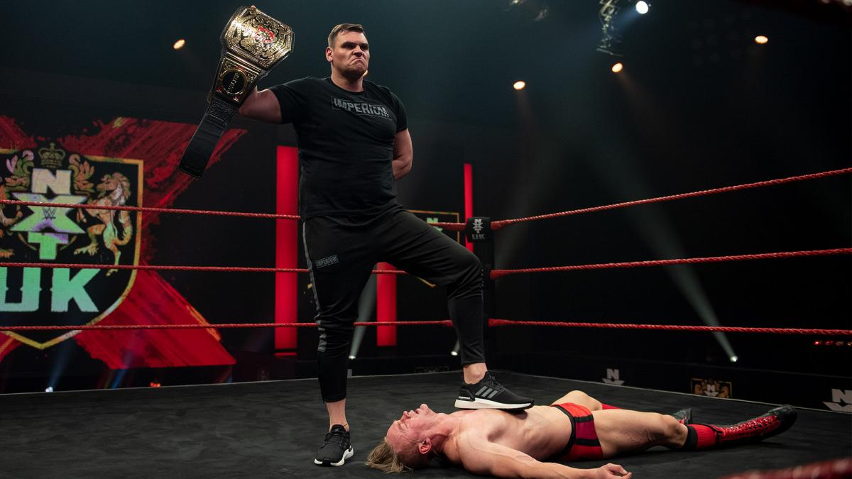 WWE Announces Big Title Rematch For WALTER