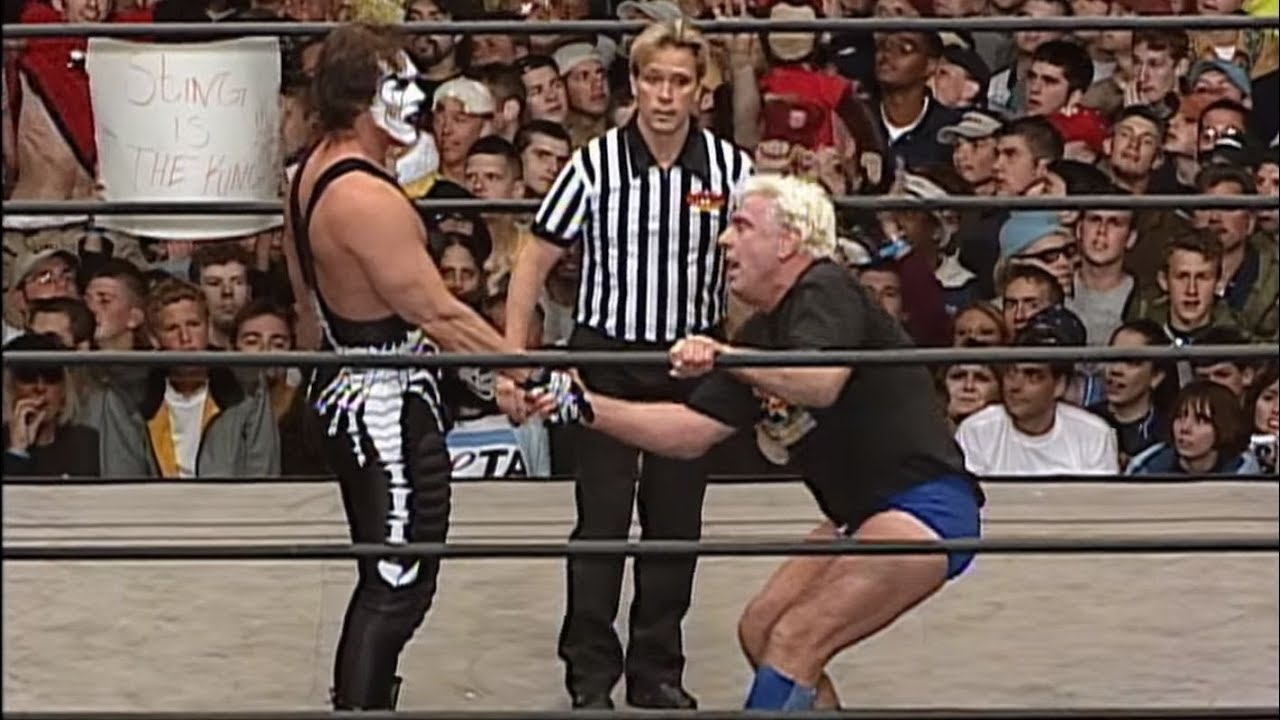 Sting Reacts To Ric Flair's WWE Release