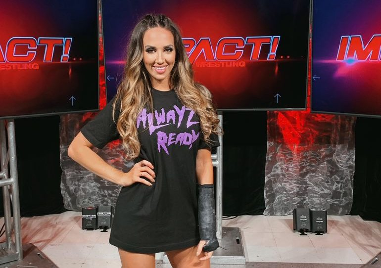 Photo: Chelsea Green Recreates Famous Stacy Keibler Pose