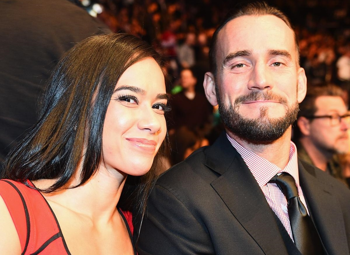 AJ Lee Reacts To CM Punk Giving Her A Shout Out On AEW Dynamite