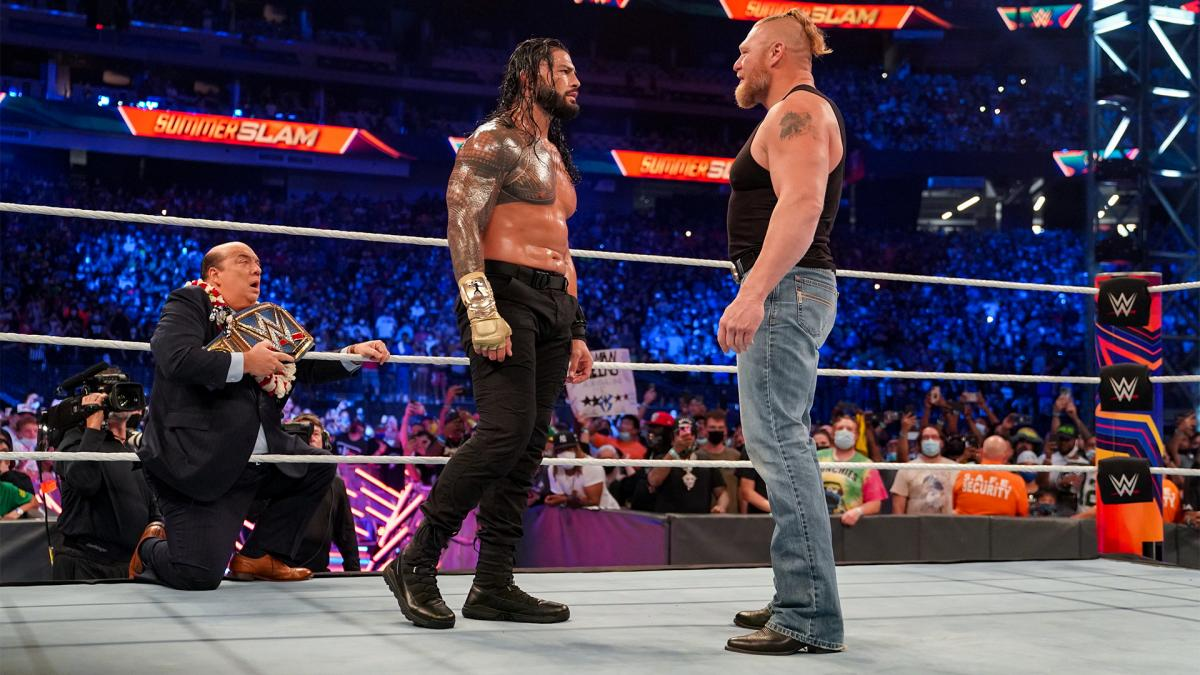 WWE Crown Jewel 2021: Brock Lesnar Vs. Roman Reigns Officially Announced 176