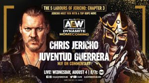 AEW Dynamite Homecoming Preview: Chris Jericho Vs. Juventud Guerrera