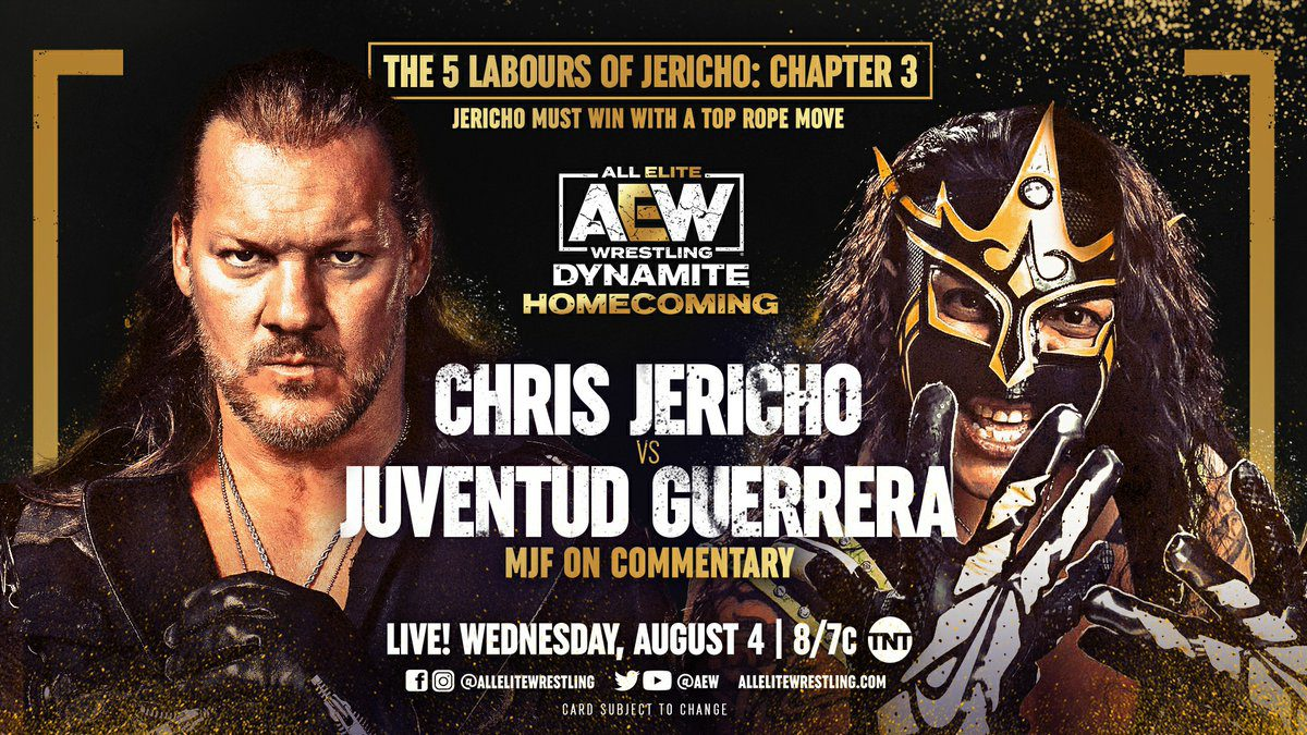 Preview For Tonight's AEW Dynamite Homecoming
