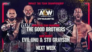 Impact Tag Title Match Set For Next Week's AEW Dynamite