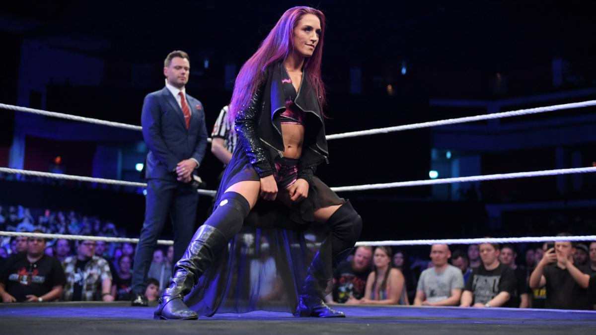 Top WWE NXT UK Superstar At The Performance Center